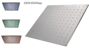 Fontana BST-BD005-4 Ceiling Mount 16 Inch Rainfall LED Showerhead