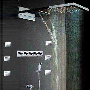 Hai Lighting 22 Inch Large Rainfall Wall Showerheads
