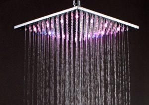 Hai Lighting Luxury 12 Inch Rainbow Showerheads
