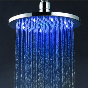 Hai Lighting Vogue 8 Inch Temperature LED Showerheads