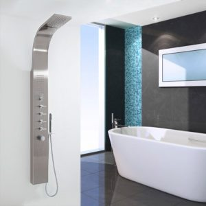 Hudson Reed Luxury Thermostatic Shower Panel UFG-ML753