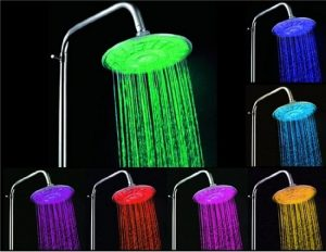 HUMPS 30A3 7-Color Changing 8-LED Showerhead