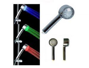 HUMPS Delightful 3 Color Changing Bathroom LED Showerhead