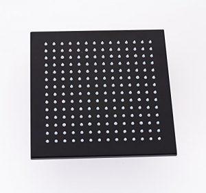 Rozinsanitary 10 Inch LED Light Oil Rubbed Bronze Rain Showerhead