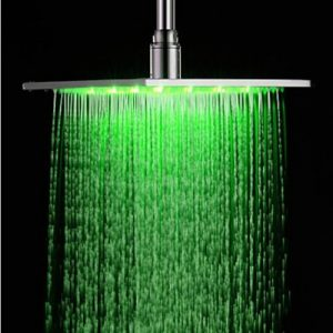 Rozinsanitary 16 Inch Chrome Brass Rain Showerhead