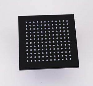 Rozinsanitary 8 Inch LED Light Top Sprayer Rainfall Showerhead
