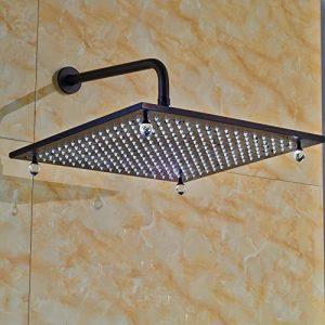 Senlesen 2202 LED Light 16 Inch Rainfall Showerhead 22