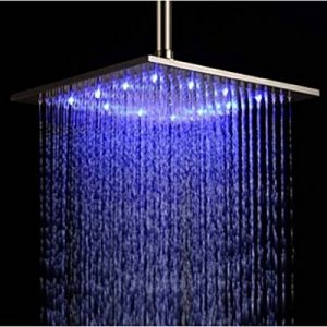 Senlesen SE2549 10 Inches LED color Changing Rainfall Showerhead