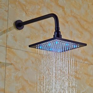 Senlesen SE4183 LED Wall Mounted Oil Rubbed Rain Shower