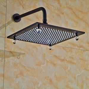 Senlesen SE4229 LED Light 16 Inches Square Rain Showerhead