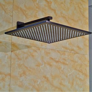 Senlesen SE4403 Wall Mount 12 Inch Led Light Showerhead