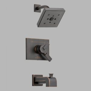Delta Faucet T17453-RBH2O Vero Volume Control Tub and Shower Faucet