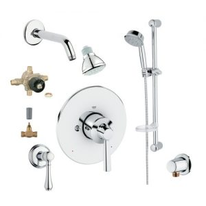 Grohe 2WVC-ARPC Custom Shower 2-Wall Volume Control System