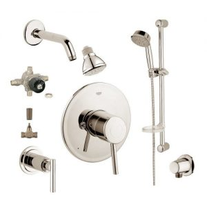 Grohe 2WVC-COBN Custom Shower 2-Wall Volume Control System