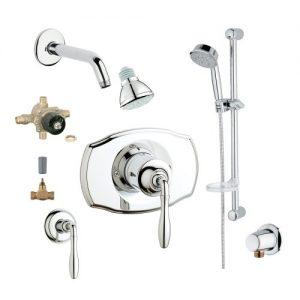 Grohe 2WVC-SEPC Custom Shower 2-Wall Volume Control System