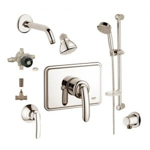 Grohe 2WVC-TABN Custom Shower 2-Wall Volume Control System