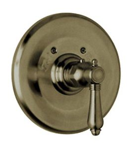 Rohl A4914XMTCB Thermostatic Cross Handle Volume Control Tuscan Brass Shower
