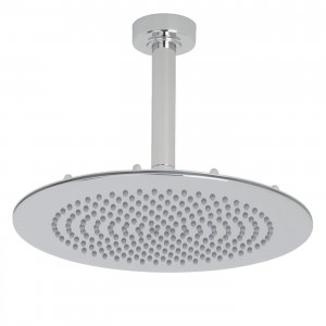 hudson reed 12 inch chrome ceiling mounted rain showerhead