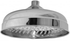 newport brass 12 inch single function satin showerhead 2092 15s