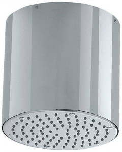 jewel faucets 8 inch cylinder ceiling mount showerhead h80405