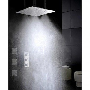 qin linyulongtou 20 inch thermostatic rainfall showerhead