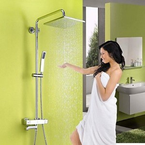 asbefore contemporary thermostatic showerhead b0150c65lu