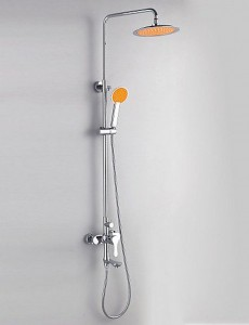 faucet shower 5464 contemporary style 24cm showerhead b015f61eqw