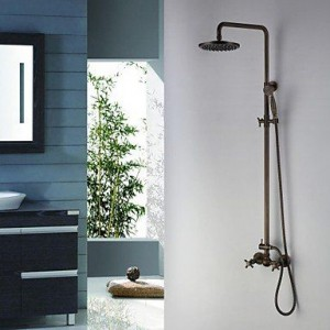 guoxian bathroom faucets 8 inch antique brass shower b013vxa0fm