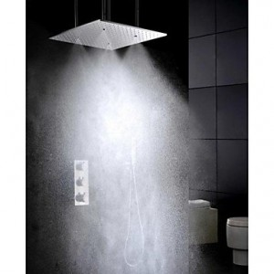 luci atomizing rainfall 20 inch super big thermostatic mixer valve b015h8r83g