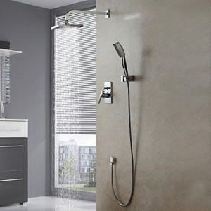 luci wall mount contemporary chrome shower b015h89bfo