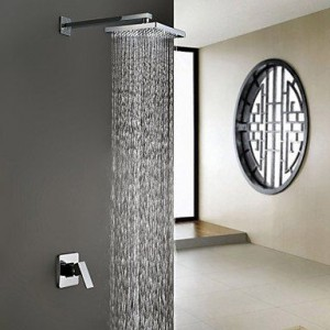 wckdjb 8 inch abs mixer tap rainfall shower b015dmk3kq