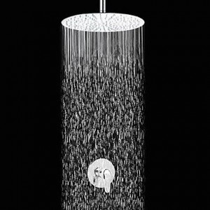 wckdjb 8 inch contemporary chrome slim showerhead b015dmngve