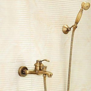 wckdjb antique brass showerhead b015dmiemu