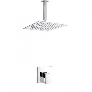 xzl 10 inch single handle wall mount showerhead b015h83646