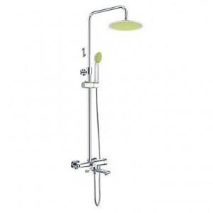 xzl brass chrome rain handshower b015h84abe