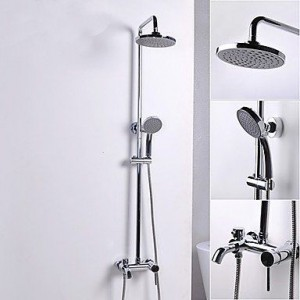xzl ceramic valve chrome shower b015h7v30g