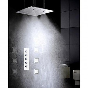xzl hot and cold large water flow bathroom showerhead b015h83l0a