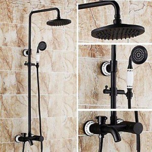 qin linyulongtou antique brass shower b013wug11g