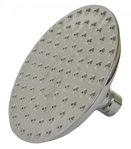 jones stephens 8 inch dimples rain showerhead s01 89bn
