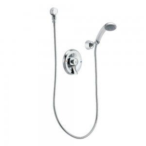 moen 2.5 gpm commercial posi temp pressure balancing handshower t8348