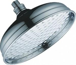 allbrass 12 inch polished chrome rain showerhead