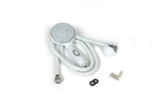 camco 60 inch rv white marine showerhead