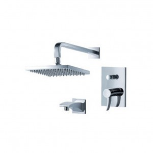 fluid faucets sublime rain showerhead f1340 t