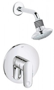 grohe europlus combination chrome shower 35017002