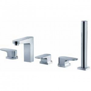 fluid faucets utopia shower faucet f1851bn t