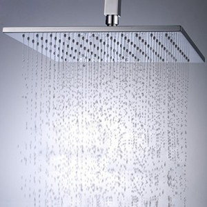 jia you jia 10 inch brass chrome rain showerhead
