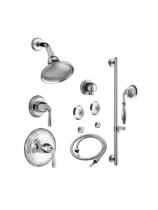 kohler polished chrome faucet k dev bndl 4 304 ks cp