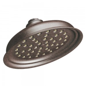 moen isabel one function rainshower showerhead s136orb