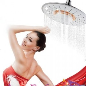 newstyle detachable waterproof bluetooth rainfall showerhead