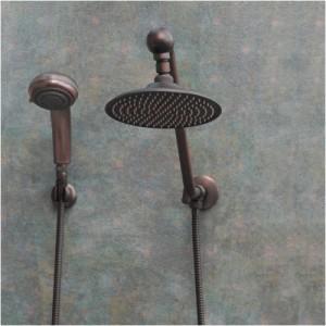 zoe atlantis bronze rain showerhead